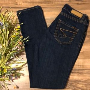 Seven7 Signature S Slimming Straight Dark Jeans